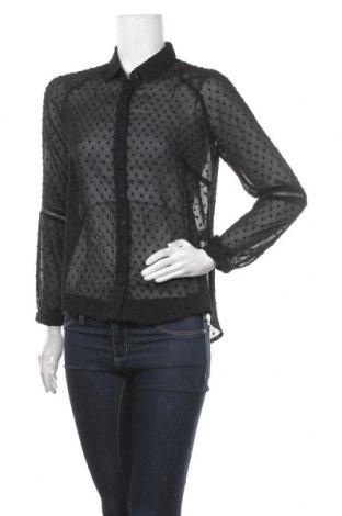 Дамска риза Irl, Размер M, Цвят Черен, Полиестер, Цена 25,20лв.