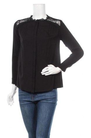 Дамска риза Irl, Размер XS, Цвят Черен, Вискоза, Цена 19,60лв.