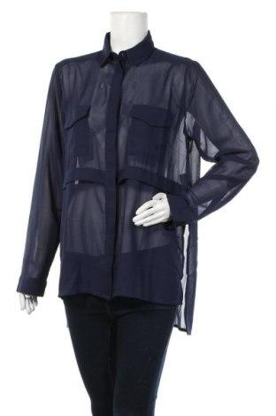 Дамска риза Jennyfer, Размер M, Цвят Син, Полиестер, Цена 18,20лв.