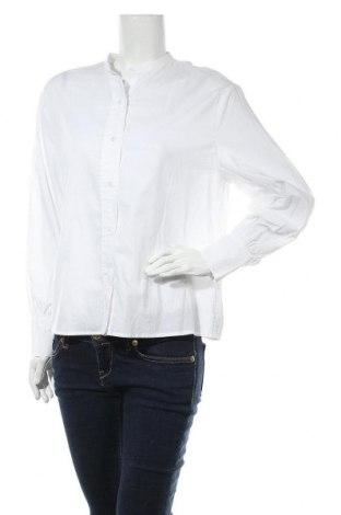 Дамска риза Mango, Размер S, Цвят Бял, Памук, Цена 39,00лв.