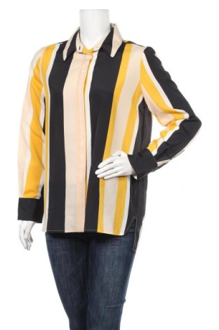 Дамска риза Mango, Размер L, Цвят Многоцветен, Полиестер, Цена 15,96лв.