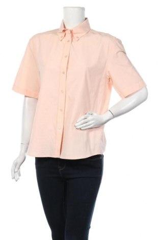 Дамска риза Mango, Размер M, Цвят Розов, Памук, Цена 23,60лв.