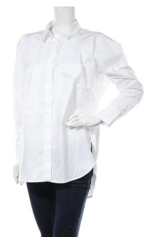 Дамска риза Mango, Размер S, Цвят Бял, 100% памук, Цена 19,78лв.