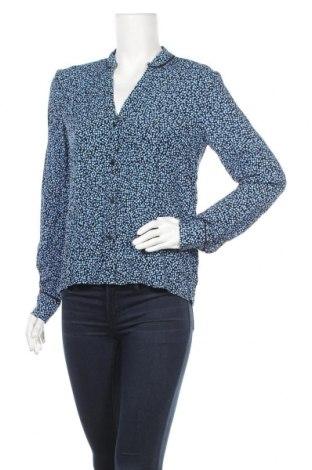 Дамска риза Mbym, Размер S, Цвят Син, Вискоза, Цена 8,98лв.
