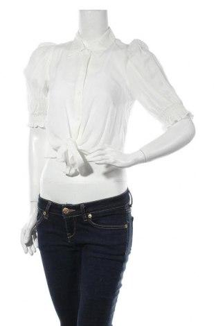 Γυναικείο πουκάμισο Miss Selfridge, Μέγεθος S, Χρώμα Λευκό, Βισκόζη, Τιμή 18,82€
