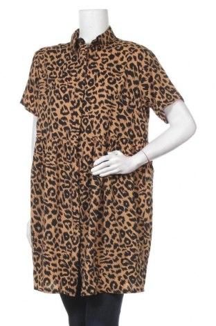 Дамска риза Missguided, Размер S, Цвят Бежов, Полиестер, Цена 29,88лв.