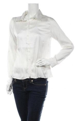 Дамска риза New Laviva, Размер M, Цвят Екрю, 65% памук, 35% полиестер, Цена 14,75лв.
