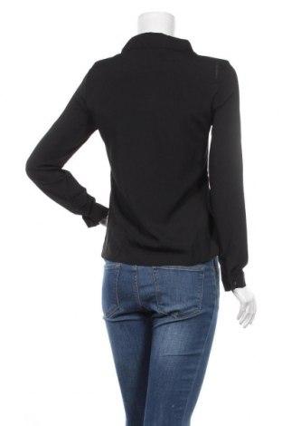 Дамска риза New Laviva, Размер M, Цвят Черен, 60% полиестер, 40% памук, Цена 23,22лв.