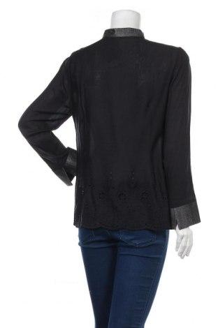 Дамска риза Nitya, Размер M, Цвят Черен, 100% вискоза, Цена 31,15лв.