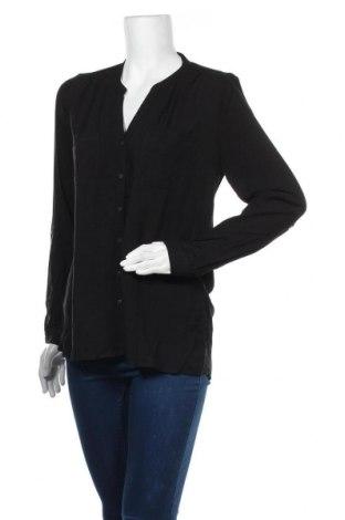 Дамска риза ONLY, Размер M, Цвят Черен, Вискоза, Цена 25,37лв.