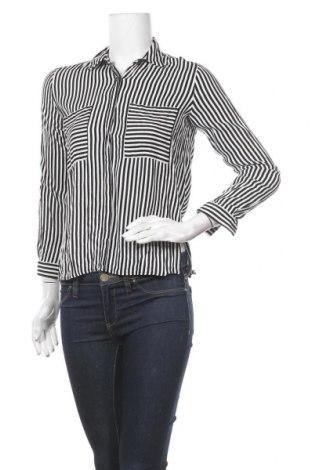 Дамска риза Pieces, Размер XS, Цвят Бял, Вискоза, Цена 11,60лв.