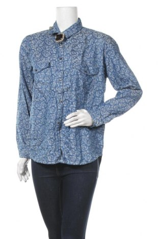 Dámská košile  Please, Velikost M, Barva Modrá, Bavlna, Cena  239,00Kč