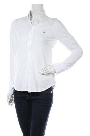 Дамска риза Ralph Lauren, Размер M, Цвят Бял, Памук, Цена 85,68лв.