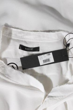 Дамска риза Replay, Размер S, Цвят Бял, Вискоза, Цена 45,15лв.