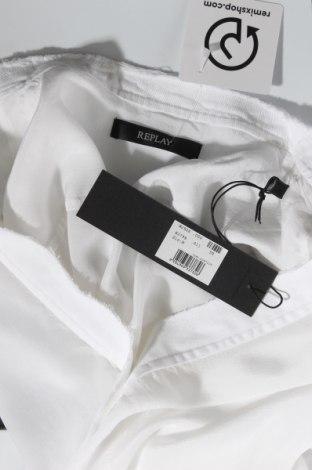 Дамска риза Replay, Размер M, Цвят Бял, Вискоза, Цена 58,05лв.