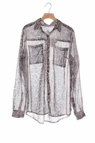Дамска риза Saint Tropez, Размер XS, Цвят Сив, Цена 12,50лв.