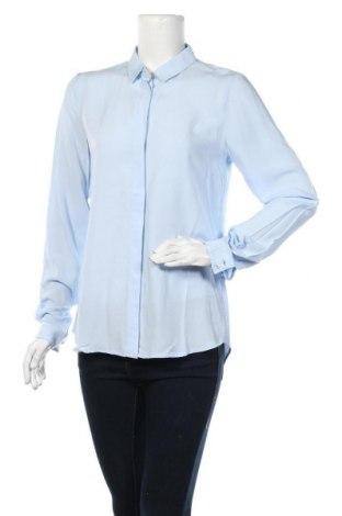 Дамска риза Soft Rebels, Размер S, Цвят Син, 100% вискоза, Цена 25,37лв.