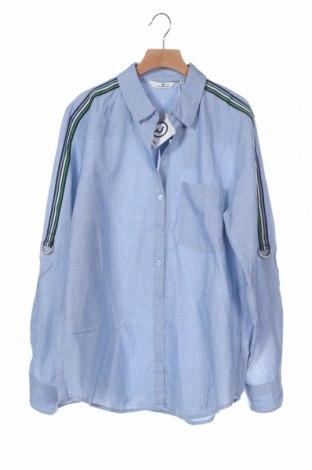 Дамска риза Tom Tailor, Размер XS, Цвят Син, Памук, Цена 51,75лв.