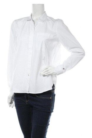 Дамска риза Tommy Hilfiger, Размер S, Цвят Бял, Памук, Цена 64,50лв.