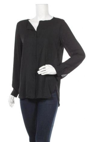 Дамска риза Vila, Размер S, Цвят Черен, Полиестер, Цена 26,00лв.