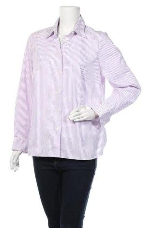 Γυναικείο πουκάμισο Walbusch, Μέγεθος L, Χρώμα Βιολετί, Βαμβάκι, Τιμή 9,26€