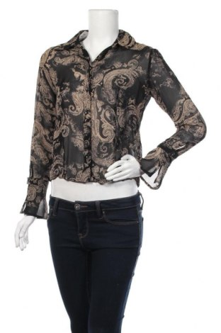 Дамска риза Your Sixth Sense, Размер M, Цвят Черен, Вискоза, Цена 5,53лв.