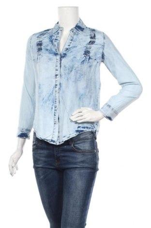 Дамска риза Zibi London, Размер S, Цвят Син, Памук, Цена 22,40лв.