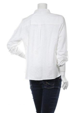 Дамска риза Dorothy Perkins, Размер XL, Цвят Бял, 84% памук, 16% лен, Цена 42,00лв.