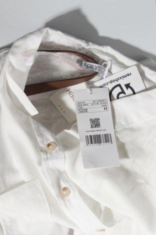 Дамска риза Hailys, Размер M, Цвят Бял, Памук, Цена 42,00лв.