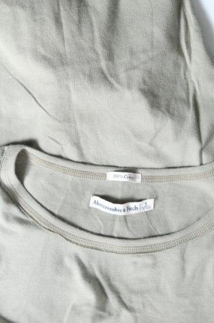 Дамска тениска Abercrombie & Fitch, Размер S, Цвят Зелен, Памук, Цена 55,20лв.