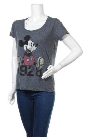 Γυναικείο t-shirt Disney, Μέγεθος S, Χρώμα Γκρί, 50% βαμβάκι, 50% πολυεστέρας, Τιμή 15,40€