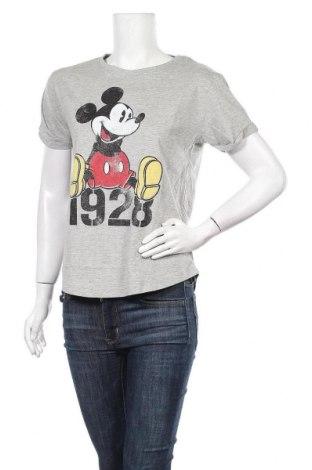 Γυναικείο t-shirt Disney, Μέγεθος S, Χρώμα Γκρί, 95% βαμβάκι, 5% βισκόζη, Τιμή 11,98€