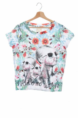 Дамска тениска Eleven Paris, Размер XS, Цвят Многоцветен, 50% памук, 50% модал, Цена 41,60лв.