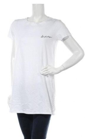 Дамска тениска Even&Odd, Размер S, Цвят Бял, Памук, Цена 20,80лв.