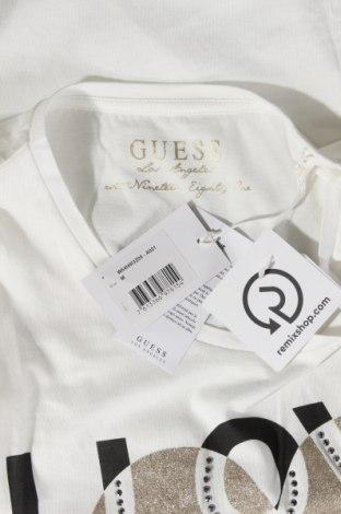 Дамска тениска Guess, Размер M, Цвят Бял, Памук, Цена 53,82лв.