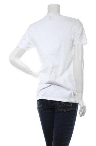 Дамска тениска Levi's, Размер M, Цвят Бял, 100% памук, Цена 48,14лв.