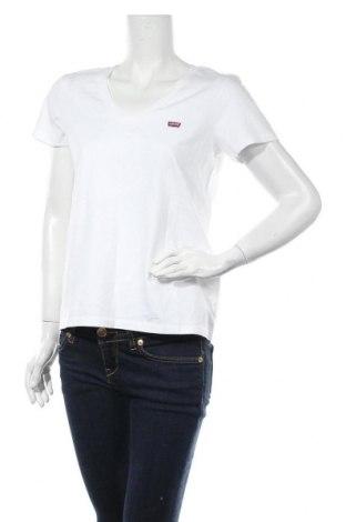Дамска тениска Levi's, Размер M, Цвят Бял, Памук, Цена 48,97лв.