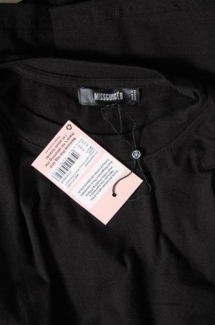 Дамска тениска Missguided, Размер L, Цвят Черен, 95% памук, 5% еластан, Цена 24,07лв.