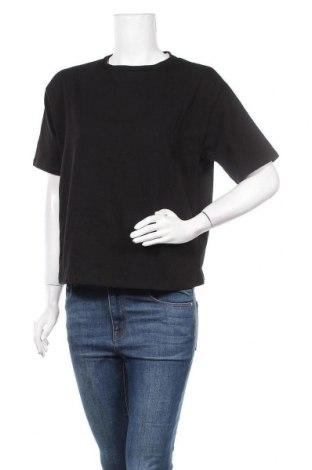 Дамска тениска Na-Kd, Размер S, Цвят Черен, Памук, Цена 19,08лв.
