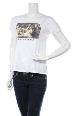 Дамска тениска New Look, Размер M, Цвят Бял, Памук, Цена 21,58лв.