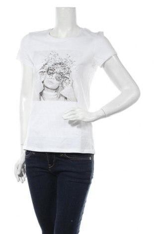 Дамска тениска ONLY, Размер M, Цвят Бял, Памук, Цена 27,20лв.