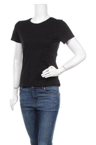 Дамска тениска ONLY, Размер S, Цвят Черен, Памук, Цена 25,50лв.