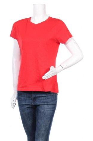 Дамска тениска Samsoe & Samsoe, Размер XS, Цвят Червен, 100% памук, Цена 51,48лв.