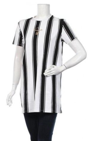 Дамска тениска SikSilk, Размер M, Цвят Бял, 95% памук, 5% еластан, Цена 29,88лв.