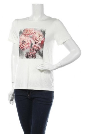Дамска тениска Soya Concept, Размер S, Цвят Екрю, 93% лиосел, 7% еластан, Цена 26,56лв.