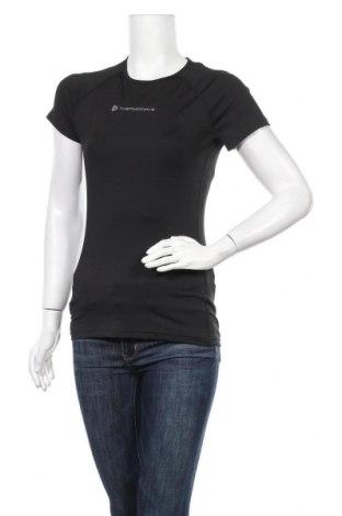 Дамска тениска Thermowave, Размер M, Цвят Черен, 95% полиестер, 5% еластан, Цена 18,72лв.