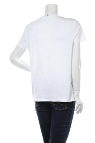 Дамска тениска Tommy Hilfiger, Размер L, Цвят Бял, Памук, Цена 61,62лв.