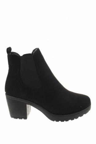 Γυναικεία μποτάκια Truffle, Μέγεθος 39, Χρώμα Μαύρο, Κλωστοϋφαντουργικά προϊόντα, Τιμή 23,97€