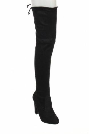 Γυναικείες μπότες Koi footwear, Μέγεθος 38, Χρώμα Μαύρο, Κλωστοϋφαντουργικά προϊόντα, Τιμή 14,29€
