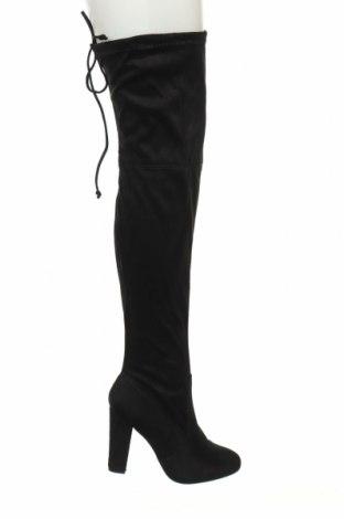 Γυναικείες μπότες Koi footwear, Μέγεθος 41, Χρώμα Μαύρο, Κλωστοϋφαντουργικά προϊόντα, Τιμή 14,29€
